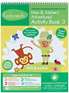 Carolina Pad & Paper Company Fundanoodle Activity Book - Max and Alphies Adventures Activity book 3