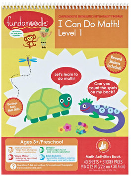 Carolina Pad & Paper Company I Can Do Math Activity Book - Level 1