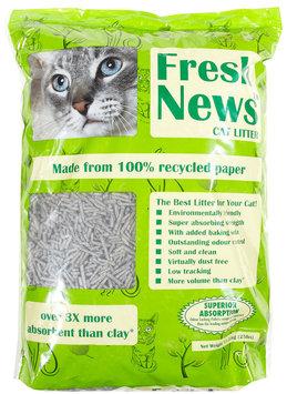 Fresh News Cat Litter - 1 Bag (25 lbs)