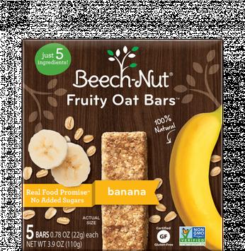Beech-Nut® Banana Fruity Oat Bars™