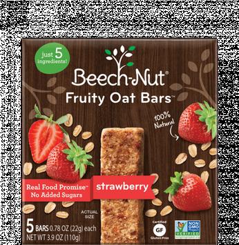 Beech-Nut® Strawberry Fruity Oat Bars™