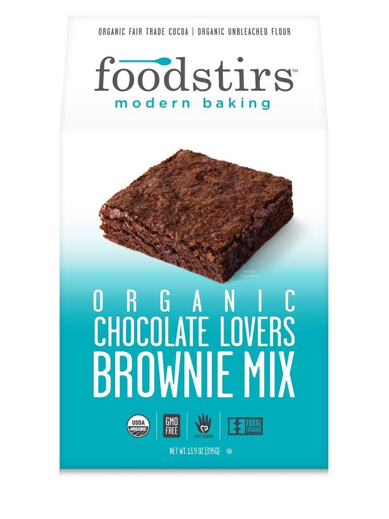 Foodstirs Organic Chocolate Lovers Brownie Mix