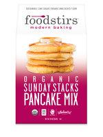 Foodstirs Organic Sunday Stacks Pancake Mix