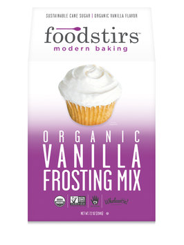 Foodstirs Organic Vanilla Frosting Mix