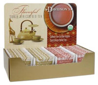 Davidson's Tea Single Serve South African Honeybush, 100ct Tea Bags