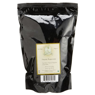 Zhenas Gypsy Tea Zhena's Gypsy Tea Peppermint Organic Loose Tea, 16-Ounce Bag