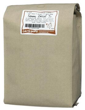 Larry's Beans Fair Trade Organic Coffee, Sammy Decaf Jr, Whole Bean, 5-Pound Bag