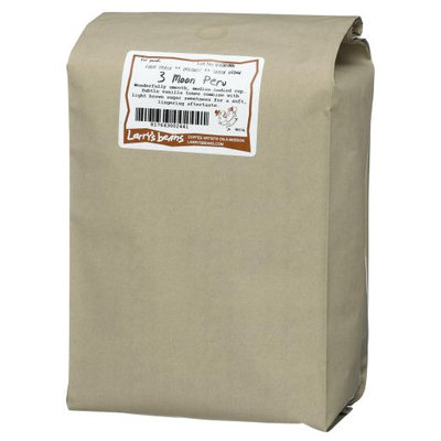 Larry's Beans Organic Whole Bean - 3 Moon Peru - 5 lb