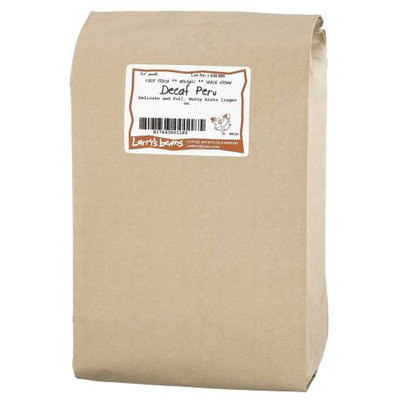 Larry's Beans Organic Decaf Whole Bean Coffee - Peru - 5 lb