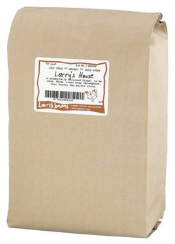 Larry's Beans Fair Trade Organic Coffee, Larry's House Blend, Whole Bean, 5-Pound Bag