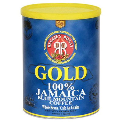 Reggie's Roast Whole Bean Coffee - Jamaica Blue Mountain Gold - 12 oz