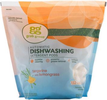 Grab Green Automatic Dishwashing Detergent - 6 lb - Tangerine w/ Lemongrass - 6 lb