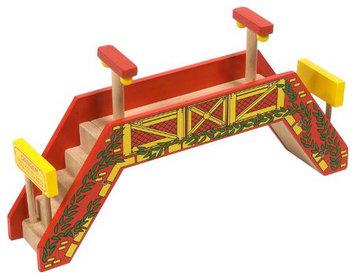 Bigjigs Toys Bigjigs Foot Bridge Expansion Train Track - 1 ct.