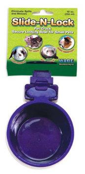 Ware Plastic Slide-N-Lock Small Pet Crock, 10 Ounce
