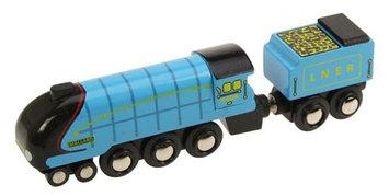 Bigjigs Toys Bigjigs Heritage Collection Mallard Train Engine