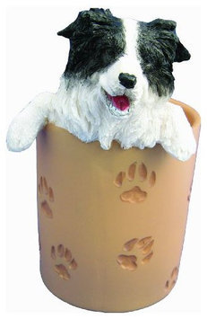 E & S Pets ES Pets Border Collie - Pen/Pencil Holder