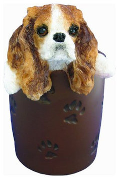 E & S Pets ES Pets Cavalier King Charles Spaniel - Pen/Pencil Holder