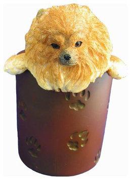 E & S Pets ES Pets Pen/Pencil Holder - Pomeranian