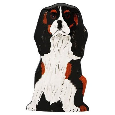 Pavilion Gift Company Rescue Me Now Cavalier Dog Vase - 7-1/2 inch Tall