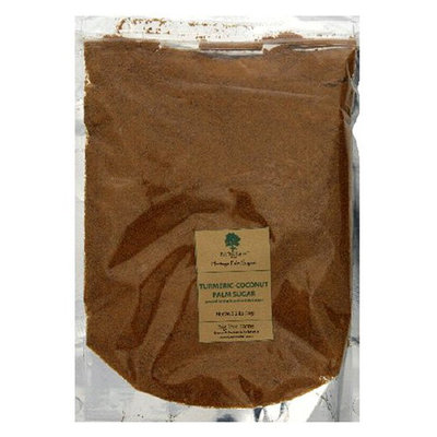 Big Tree Farms Coconut Palm Sugar With Turmeric Root, 2.2lb Pouch