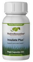 Native Remedies Insulate Plus Capsules, 60ct Bottle