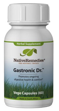 Native Remedies Gastronic Doctor Capsules, 60ct Bottle
