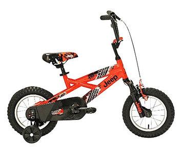 Jeep Boy's Bike, Orange/Black - 12
