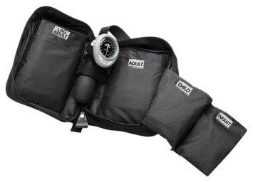 ADC MULTIKUF Blood Pressure Kit, 4 Cuff, Black