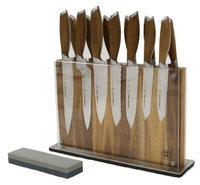 Schmidt Brothers Cutlery Bonded Teak 15-pc Full Knife Set
