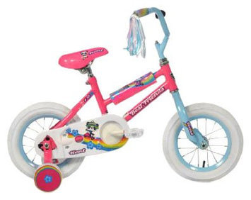Kent Girl's Best Friends Panda Bike Pink (12