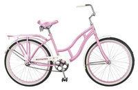 Schwinn Destiny Cruiser Bicycle, Pink - 24