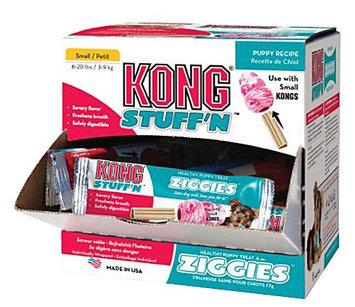Kong Puppy Ziggies Cube Dog Toy Small