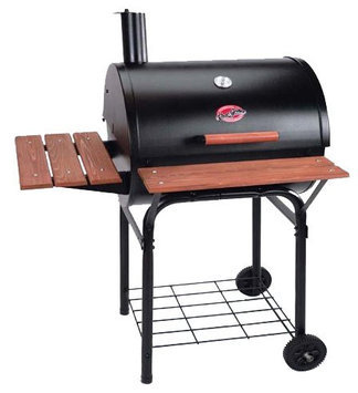 Chargriller Char-Griller Wrangler 640 sq. in. Charcoal Grill / Smoker