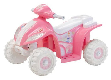 Kid Trax 6V Princess Quad