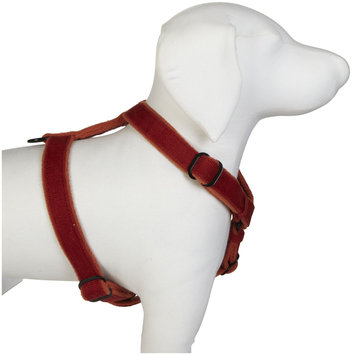 Planet Dog Cozy Hemp Adjustable Harness - Orange - Small