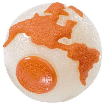 Planet Dog Orbee-Tuff Ball Small - glow/orange
