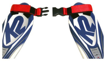 Lucky Bums Tip Clip Ski Training Aid (Red/Black)