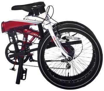 Kent Giordano Folding Bike, White - 20