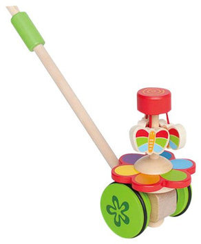 Hape Dancing Butterflies Push and Pull - 1 ct.