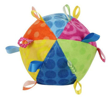 Mary Meyer Taggies Plush Toss the Taggies Chime Ball, Colors - 1 ct.