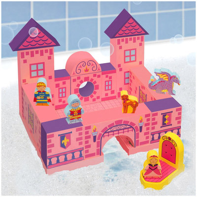 BathBlocks Floating Castle Set, 21-Piece - 1 ct.