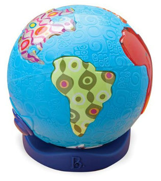 Battat B. Global Glowball Musical Toy