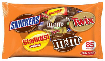 Mars Fun Size Candy Variety Bag - 43 oz - 80 ct