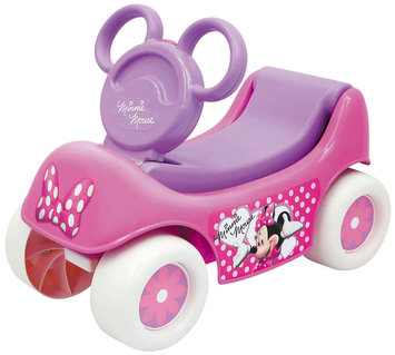 Moose Mountain Disney Minnie Mouse Happy Hauler Ride-On and Wagon.
