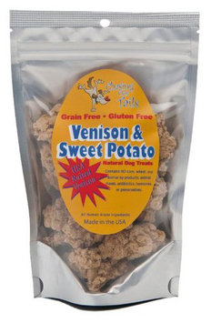 Chasing Our Tails Vension & Sweet Potato Grain Free All Natural Dog Treats w 35% Real Meat