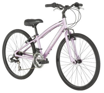 Diamondback Bicycles Clarity Performance Girl's Hybrid Bike, Pink - One Size Frame