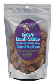 Chasing Our Tails Lady's Handmade Lamb & Rice Natural Gluten Free Dog Treats w 35% Real Meat