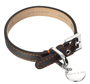 Hennessy & Sons Sailor Handmade Lorica Microfiber Dog Collar