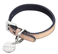 Hennessy & Sons Natural LV Handmade Vegetable Leather Dog Collar