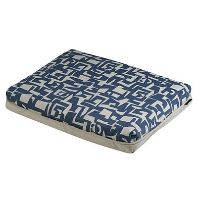 Crypton Super Fabric Modern Futon Blue, Xlarge